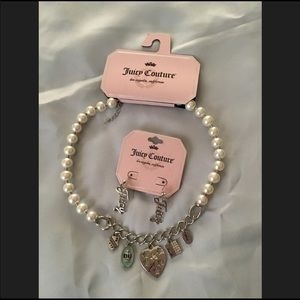 Juicy Couture Necklace & Earrings Set
